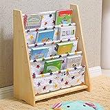 MEILING Bücherregal Kinder Bücherregal Kindergarten Bücherregal Kinderhaus Einfache Gemalte Rahmen Cartoon Spielzeug Lagerung Rack ( Farbe : 4 )