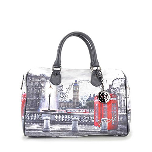 Bauletto Y Not i 318 stampa Londra RBX Multicolor