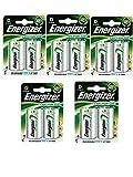 5 X Energizer Plus Power D 2500mAh Größe 1,2 V wiederaufladbare Batterie HR-FABSPOWER 20-7638900138757