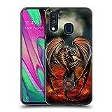 Head Case Designs Ufficiale Anne Stokes Lava Dragoni Cover Dura per Parte Posteriore Compatibile con Samsung Galaxy A40 (2019)