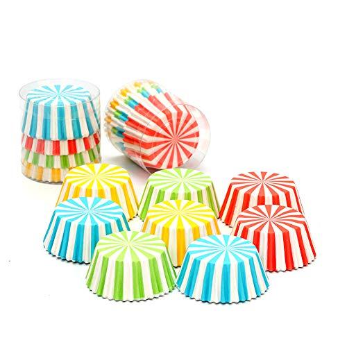 (Ssowun Papier Kuchen Cupcake Förmchen 100 Stück,Einweg Muffin Förmchen Küche Backen Muffinformen Eierkuchen Cupcake Förmchen Hochzeit Party)