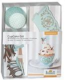 Cupcake-Deko-Set, mint