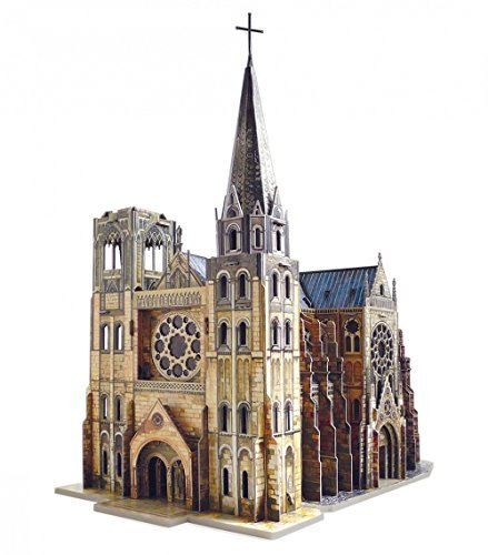 CLEVER PAPER- Puzzles 3D Catedral gótica (14255)