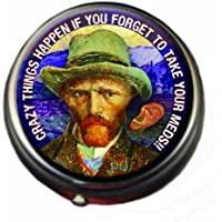 Van Gogh Pill Box - Compact 1 or 2 Compartment Medicine Case preisvergleich bei billige-tabletten.eu