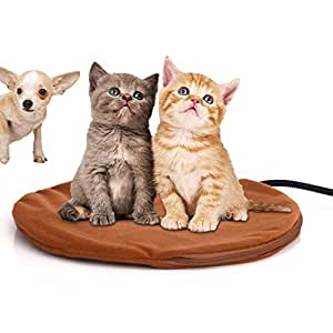 pet heating pad for cats dogs electric berocia 12w adjustable temperature waterproof pet bed. Black Bedroom Furniture Sets. Home Design Ideas