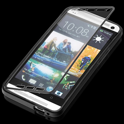 youcase-htc-one-m7-touch-case-tasche-outdoor-schutz-hulle-smart-cover-etui-tpu-silikon-schwarz-serie