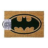 Batman Fußmatte mit Logo (40x 60cm) aus Kokosfaser in braun