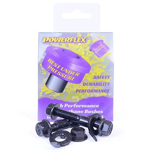Pfa100-12 PowerFlex Poweralign kit de boulon 12 mm Camber Finition noire (lot de 2)