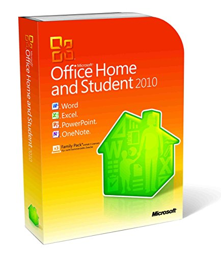 Microsoft Office Home and Student 2010 - Family Pack - 3PCs/1User -...