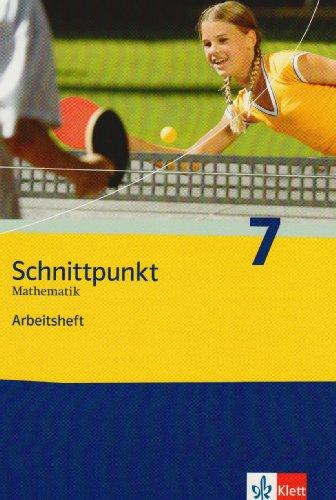 Preisvergleich Produktbild Schnittpunkt. Mathematik für Realschulen (allgemeine Ausgabe) / Arbeitsheft mit Lösungsheft 7. Schuljahr