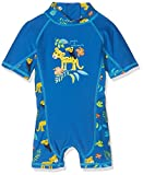 Tube Rider Baby - Jungen Einteiler Onepiece UV 28520_B, Gr. 74 (74/80), Blau (Victoria Blue 18-4148 Tpx)