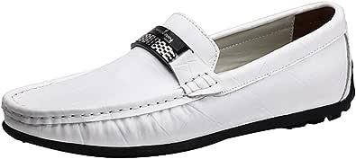 Dooxi Uomo Elegante Mocassini Scarpe Casuale Piatto Scivolare Loafers Scarpe