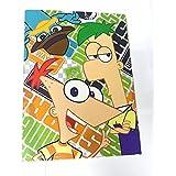 Carpeta de 4 anillas de Phineas y Ferb