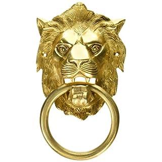 Aakrati Lion Door Knocker Brown