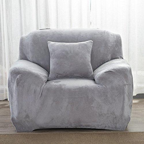 Ssdlrsf fodera per divano componibile elasticizzata fodera per divano in tinta unita per divani angolari 1/2/3/4 posti copridivano per divano (90-300cm), colore 14, tre per 195to230cm