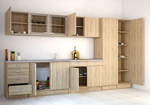 Kit Cucine Componibili.Kit Cucina Pensile 2a 45518 Ak Legno
