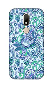 ZAPCASE Printed Back Cover for Motorola Moto M