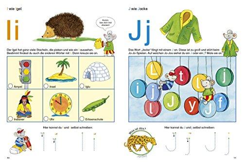 Fragenbär Vorschule: Buchstabenspiele und erstes Schreiben (Lerne mehr mit Fragenbär) - 5