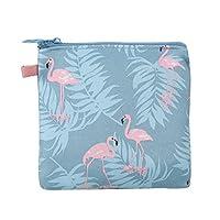 BIGBOBA Women Girl Portable Zipper Sanitary Pad Bag Waterproof Sanitary Napkin Organizer Holder Makeup Coin Pouch Small Convenience Bags