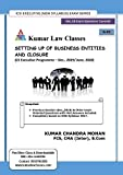 SETTING UP OF BUSINESS ENTITIES AND CLOSURE FOR CS EXECUTIVE DECEMBER 2019 EXAM