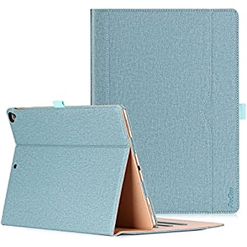 ProCase Apple iPad Pro 12.9 2017 2015 (Old Models) Case -Premium Leather  Stand Folio Case Cover,with Apple Pencil Holder Auto Sleep Wake 55075fd616182