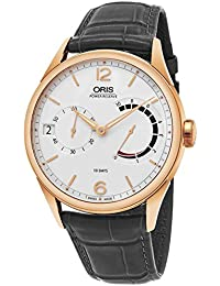 Oris Artelier Herren-Armbanduhr 43mm Armband Leder Automatik 11177006061LS78
