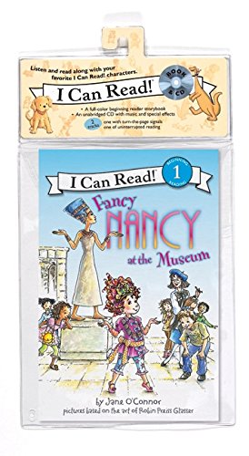 Fancy Nancy at the Museum Book and CD [With Paperback Book] por Jane O'Connor