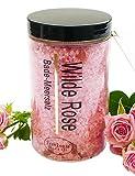 Badesalz Geschenk Wilde Rosen Bade-Meersalz aus dem Toten Meer, Badezusatz 450 g