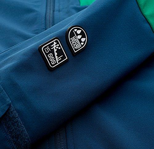 Elbrus Herren Randal Softshell Blue Wing Teal/Bosphorus