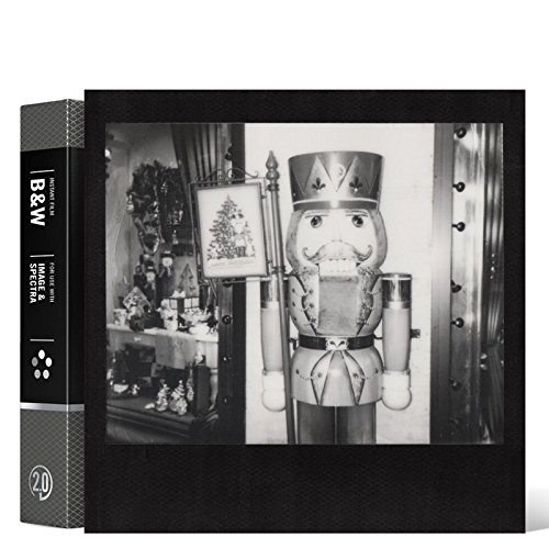 Impossible 4163.0 Sofortbildfilm für Polaroid Image/Spectra Kamera (s/w monochrome/sepia) 8 Aufnahmen Frame Gen 2 schwarz