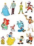 Unbekannt 1 Stück: Figur / Sammelfigur - Disney Prinzessin / Filme - aus Schneewittchen / Cinderella / Pinocchio / Arielle / Aladdin u. die Wunderlampe / Peter Pan - Bu..