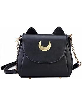 Bonamana Cosplay Sailor Moon 20. Tsukino Usagi PU-lederne Frauen Handtasche Schultertasche