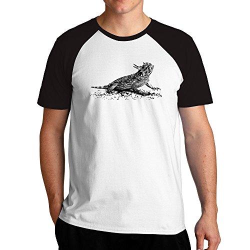 Texas Horned Lizard Tiere (Eddany Texas Horned Lizard sketch Raglan T-Shirt)