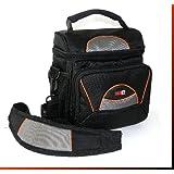 LOOKit® Sac GW-38 étanche, pour Panasonic FZ82 FZ300 FZ1000 FZ2000 Canon G3x, Canon SX50 SX520 SX60 G16 G15 (1x Sac GW38)