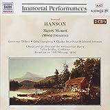 Hanson: Merry Mount (Gesamtaufnahme) (Live-Mitschnitt der Radiosendung vom 10.02.1934 mit Originalkommentaren von Milton Cross)