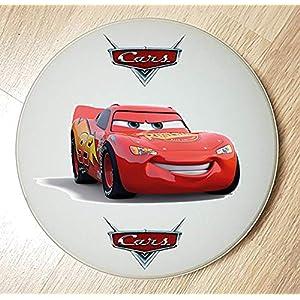 Deckenleuchte/Wandlampe * AUTO Cars rot Rennwagen * auch LED – mit/ohne Name