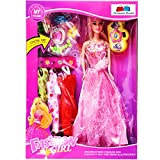 #7: GRAPPLE DEALS Fashion Girl Princess Doll With Trendy Dresses And Accessories For Girls