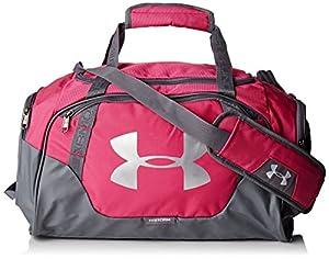 Under Armour UA Undeniable–Bolsa para viaje de 3.0, color rosa, tamaño 32 L (51x26x24 cm)