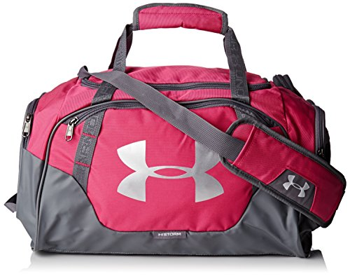Under Armour Unisex Undeniable Duffle 3.0 SPorttasche, 50 x 25 x 25 cm, 37 L, Pink (Tropic Pink) Frauen Training Bag