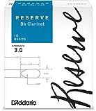 D'Addario, Reserve DCR1020 - Ancia per Clarinetto in sib, confezione da 10 pezzi