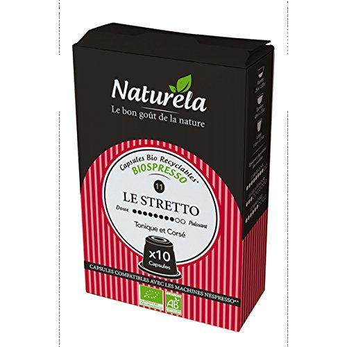 Naturela Organic Coffee Capsules Nespresso Compatible Compostable (Pack of 9, Total 90 Capsules) 51ecrJ3z4yL