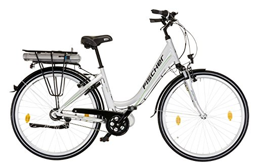 "28\"" Zoll Fischer E-Bike Pedelec Mittelmotor City Shimano 7 Gang 36V silber B-Ware"
