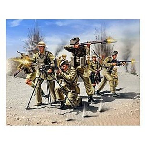 Imagen principal de Revell Modellbausatz 02512 Scottish Infantry 8th Army WW II - Figuras de soldados escoceses de la 2 Guerra Mundial en miniatura (escala 1:72)