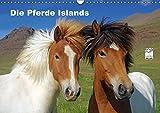 Die Pferde Islands (Wandkalender 2018 DIN A3 quer): Die wunderbaren Islandpferde werden in verschiedenen Jahreszeiten von ihrer schönsten Seite ... ... [Kalender] [Apr 01, 2017] Pantke, Reinhard