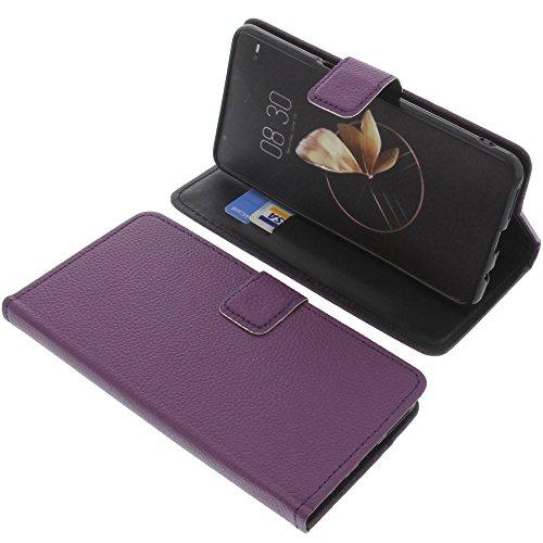 foto-kontor Tasche für Archos Diamond Gamma Book Style lila Schutz Hülle Buch