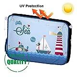 Auto Sonnenblenden für Kinder - Auto-Sonnenschutz für Seitenfenster (1 Stück) - Schutz vor schädlichen UV-Strahlen, Baby Autosonnenschutz passt Universell (sailboat)