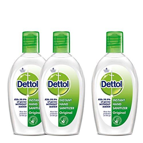 Dettol Sanitizer - 50 ml (Buy 2 Get 1 Free)