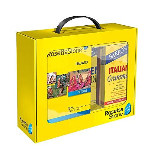 Rosetta Stone/Barron's Bundle - Italian Grammer, Levels 1-5 (Italienisch Rosetta Stone)