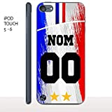 MYCOQUE Coque IPOD Touch 5/6 Foot France - Personnaliser Votre Maillot Foot France 2...