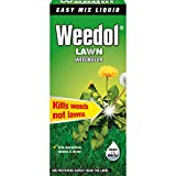 Désherbant Weedol Lawn Weedkiller, bouteille de concentré liquide Weedol Lawn Weedkiller...